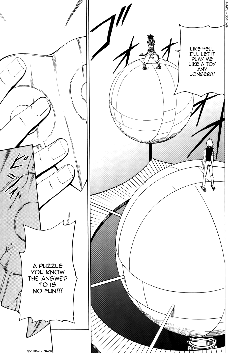 Phi Brain - Kami no Puzzle - Chapter 11