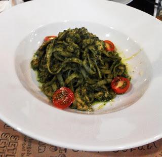 Fettucine El Pesto