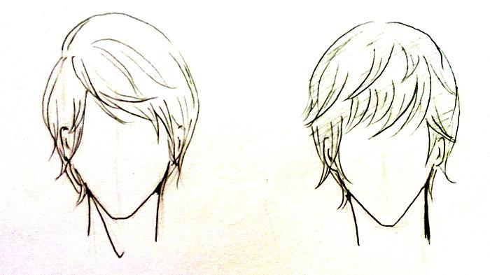 Cara Menggambar Rambut Manga Cowok Mayagami