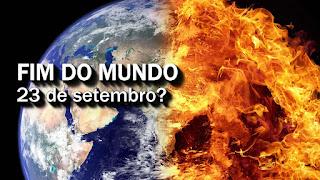 FIM do MUNDO será no dia 23 de setembro?