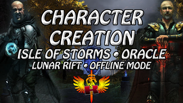 Shroud Of The Avatar Character Creation • Isle Of Storms • Oracle • Lunar Rift • Offline Mode