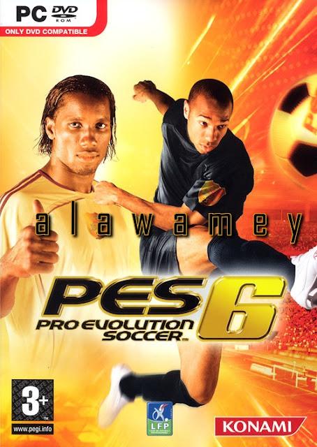 تحميل لعبة pes6 كاملة برابط واحد مباشر مضغوطة