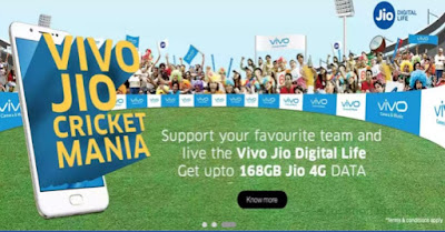 vivo jio cricket mania