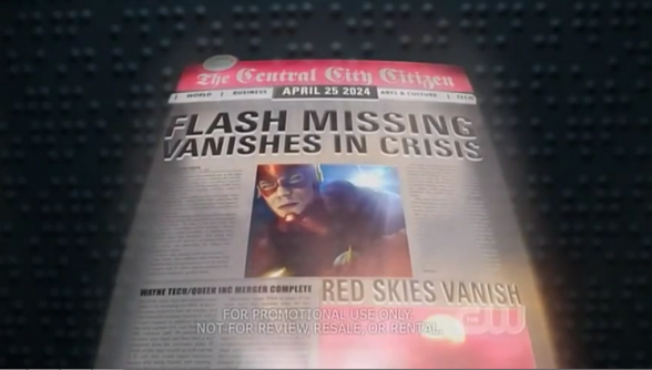 Prensa del futuro The Flash