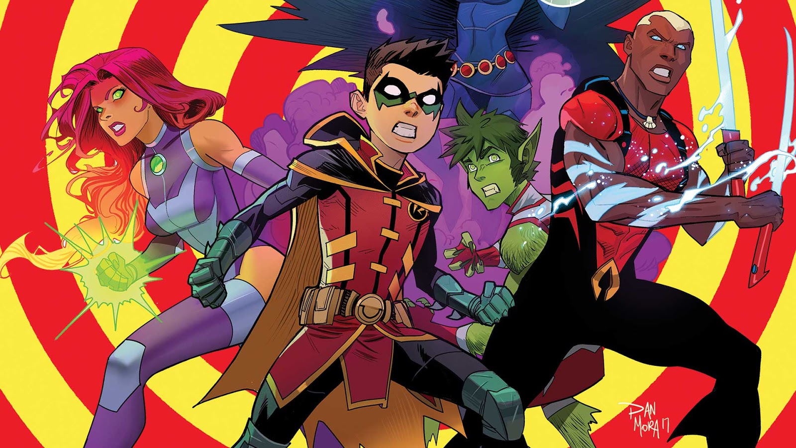 Teen Titans Outfits