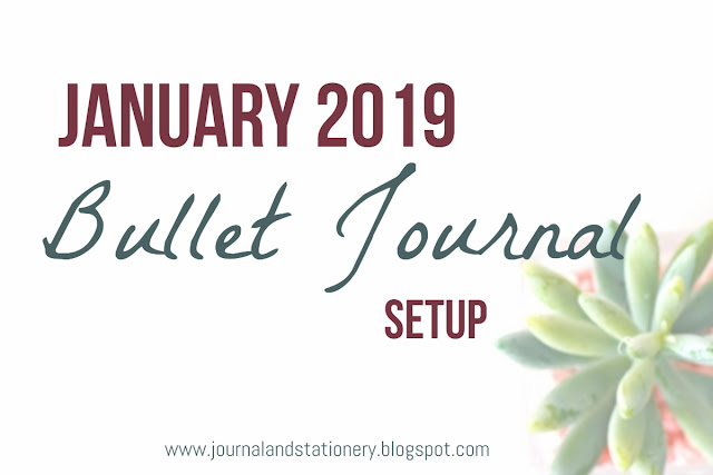 bullet journal, bullet journal layout, bullet journal 2019, bullet journal january 2019, journal notebook, journal planner, bullet journal indonesia, how to make bullet journal, memulai bullet journal