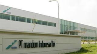 Lowongan Kerja Operator Produksi Kawasan MM2100 PT. MANDOM INDONESIA,Tbk