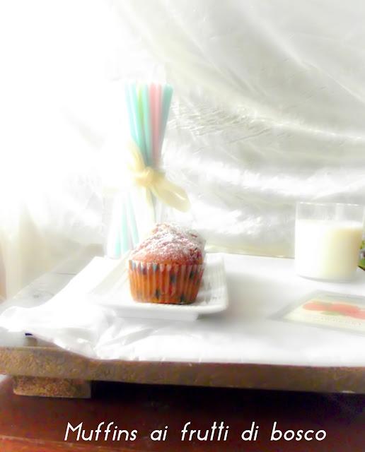 frutti di bosco-muffins-colazione-ricetta-facile-veloce-economica-yogurt
