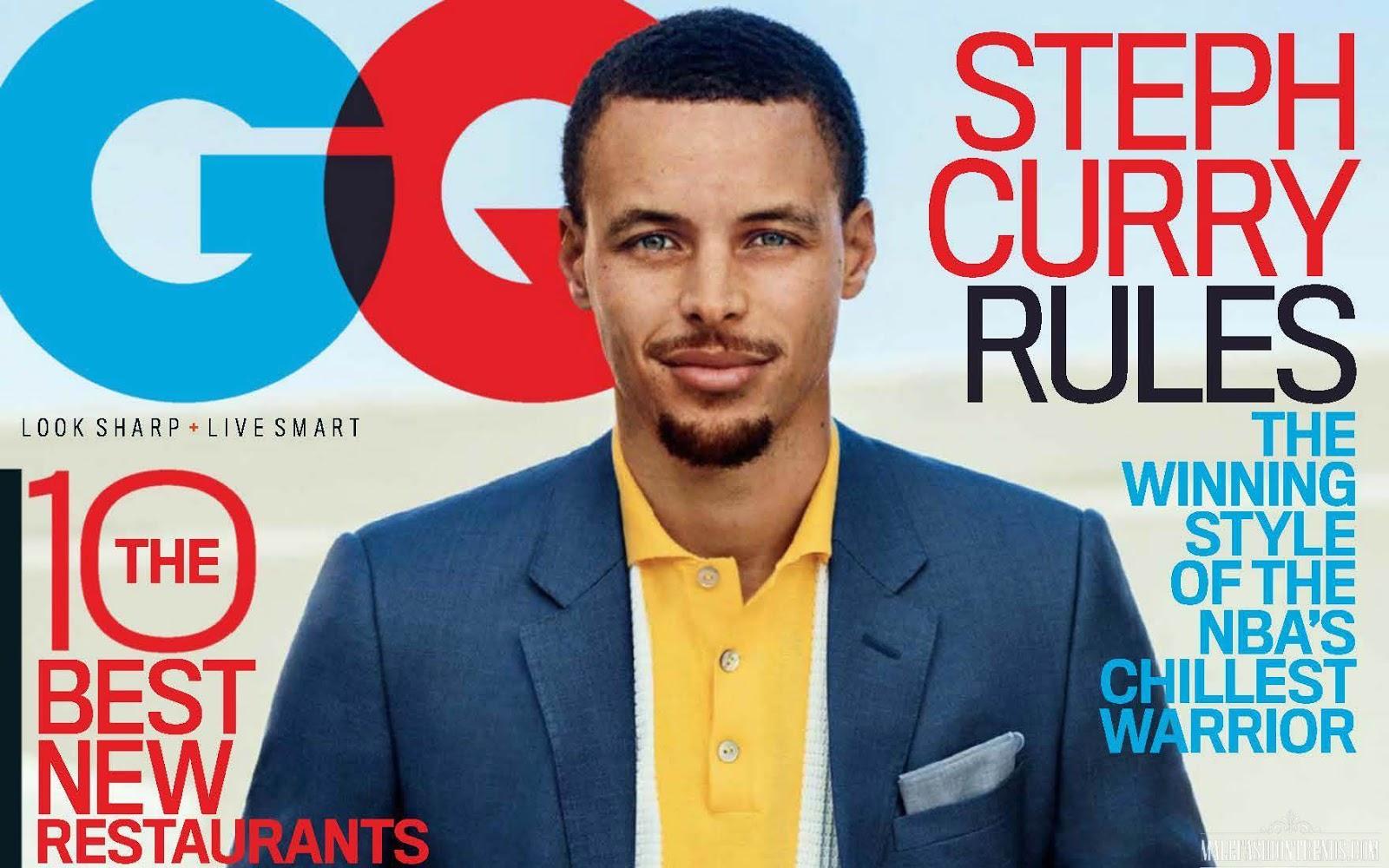 Stephen Curry para GQ USA por Sebastian Kim