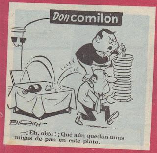 Don Comilón, Rififí  nº 15
