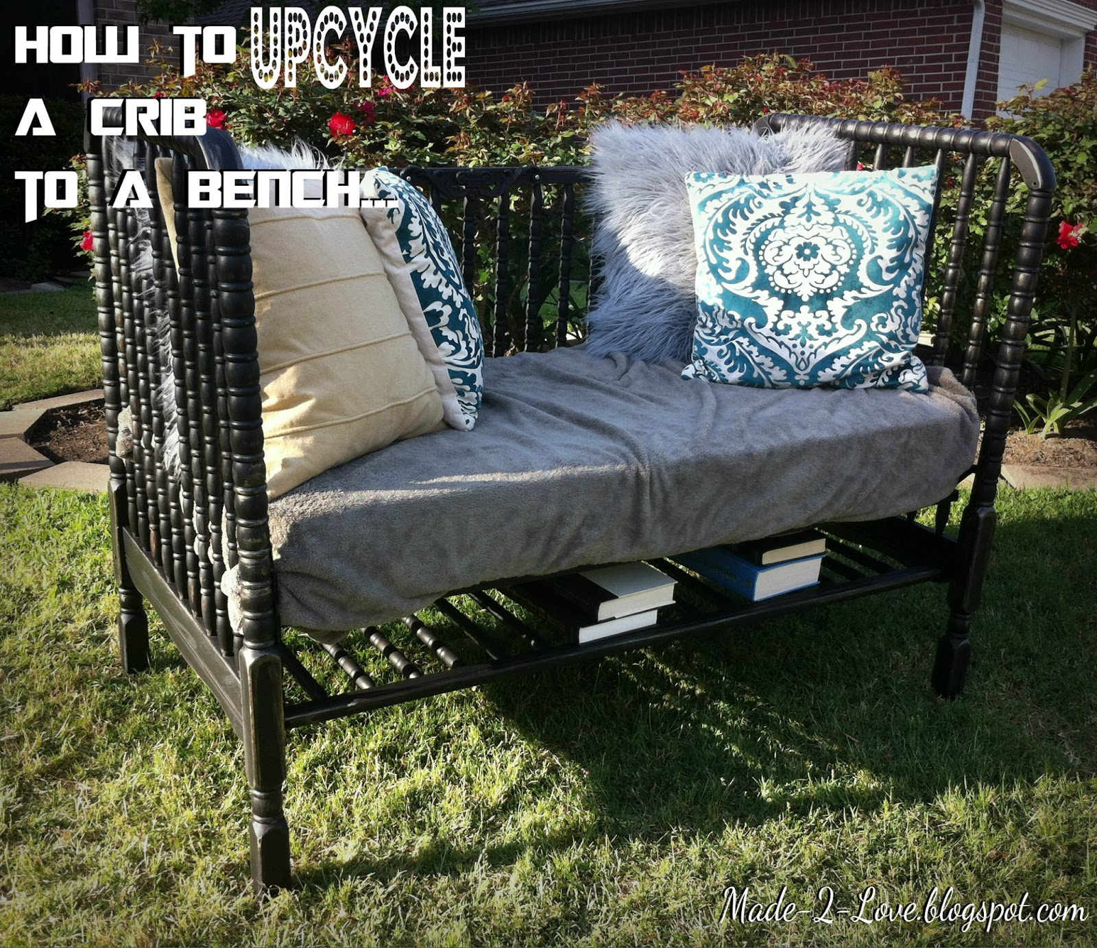 Superb Made To Love Upcycled Crib To A Bench Uwap Interior Chair Design Uwaporg