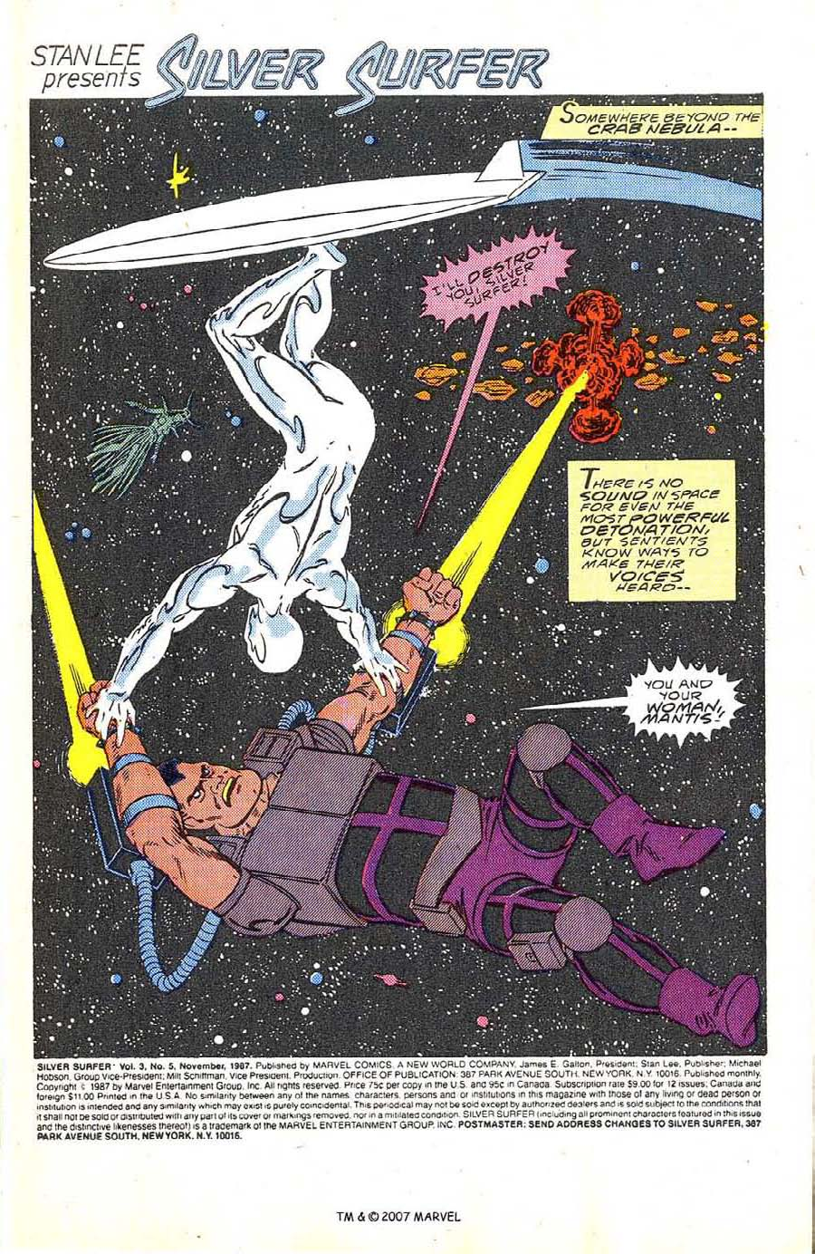 Read online Silver Surfer (1987) comic -  Issue #5 - 3