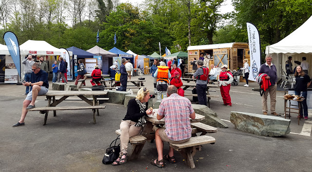 Photo of visitors to Windermere Boat Show