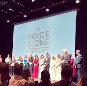 Finalists at the 2019 By Voice Alone competition