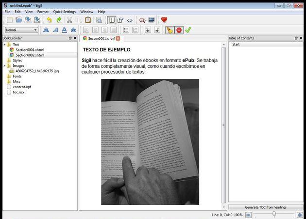 Sigil Programa Para Escribir En Epub Librosintinta Sitio Oficial