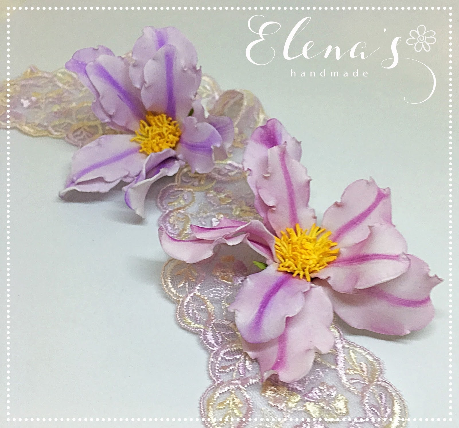 Elenas handmade lily flower tutorial with such an elegant look no wonder the flower means royalty rebirth and purity izmirmasajfo