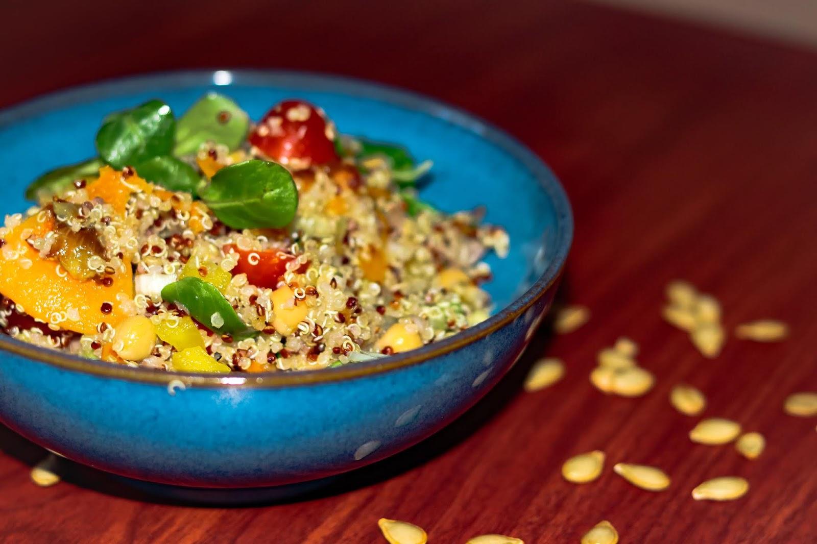 Salade de qiunoa au butternut / butternut quinoa salad