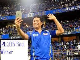 IPL 2015 Final Winner