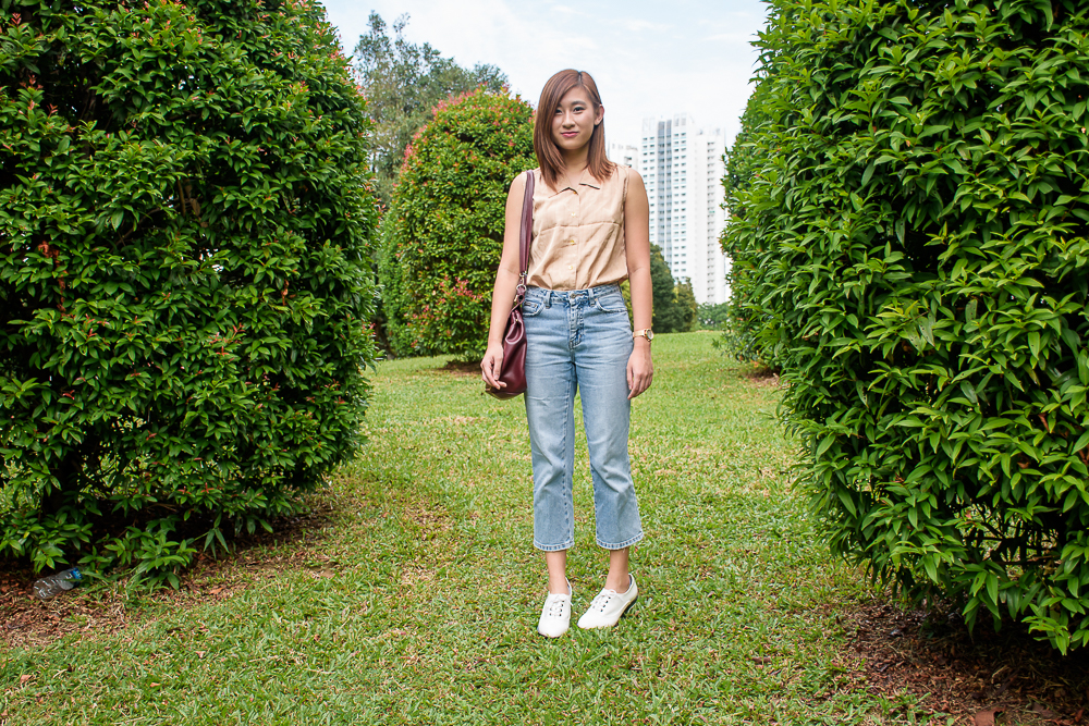 OOTD Lean in singapore asian fashion and lifestyle travel blogger