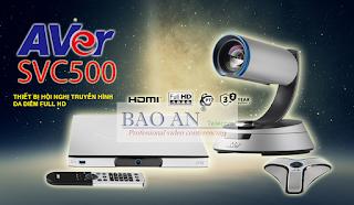 Thiết bị hội nghị truyền hình AVer SVC500 mới