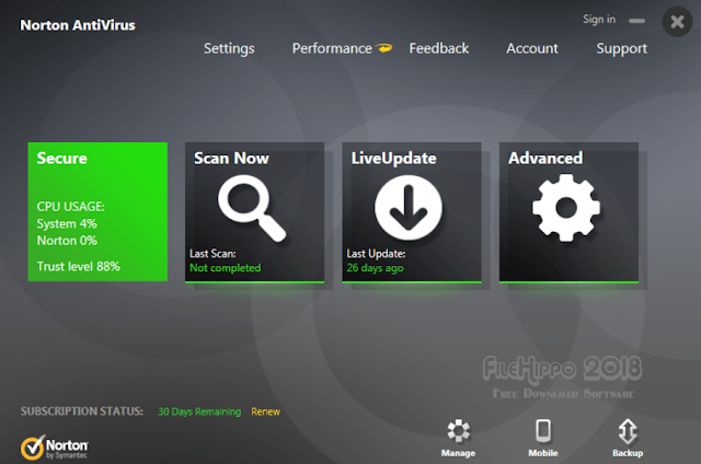 Norton AntiVirus 2018 Free Download