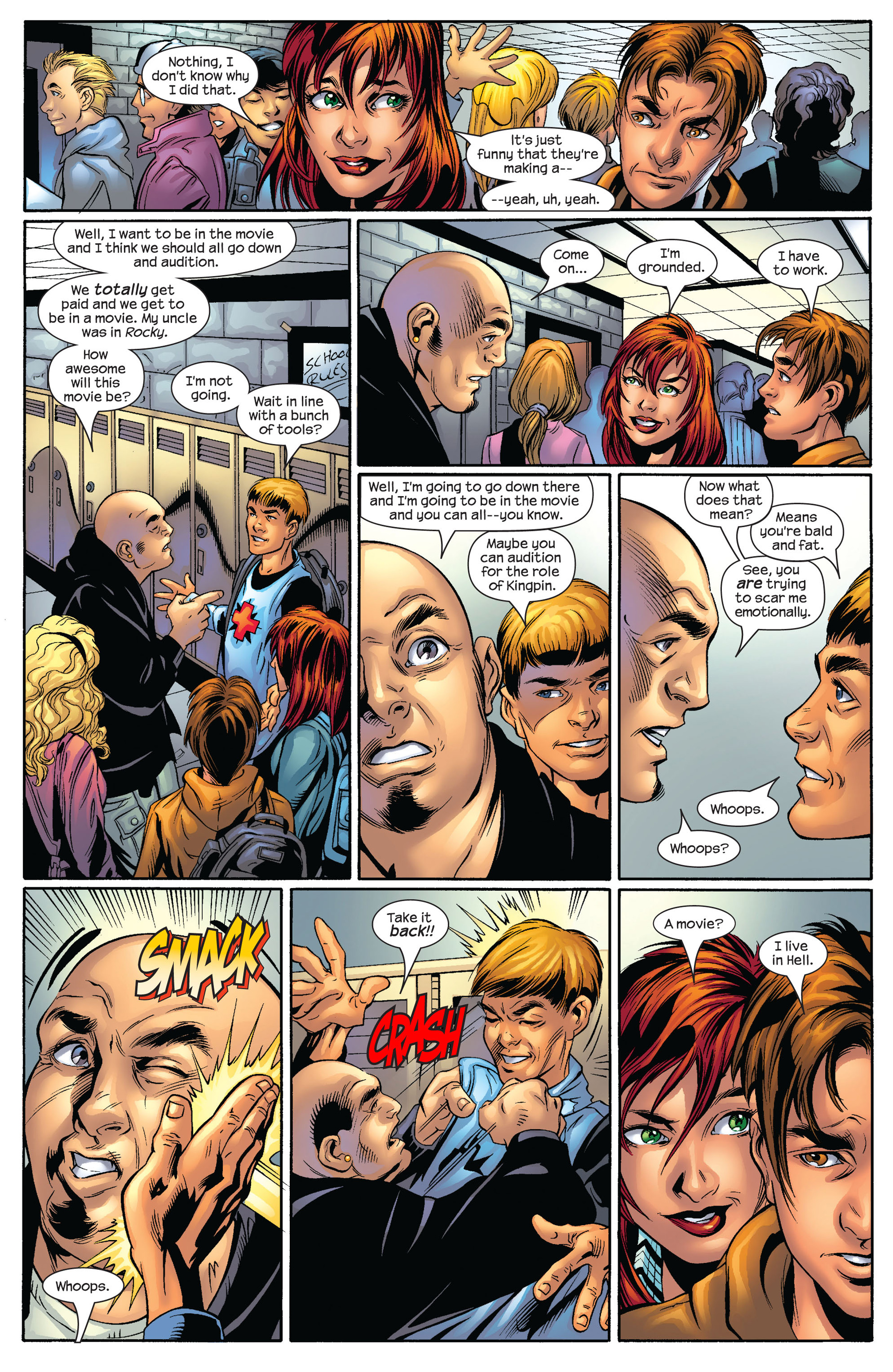 Read online Ultimate Spider-Man (2000) comic -  Issue #54 - 12