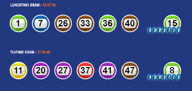Win on numbers 49s results - 26-10-2018