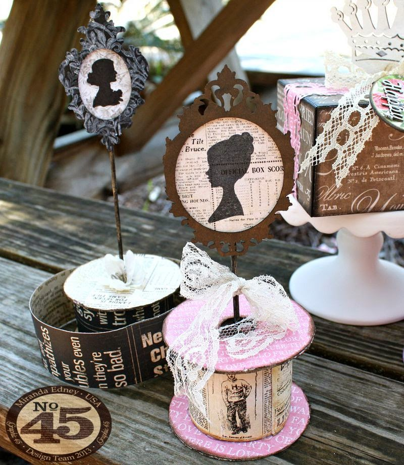 Msliberty Creations Graphic 45 Mothers Day Party Decor