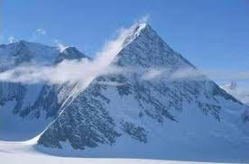 Surgiram Piramides na Antartida apos o desgelo