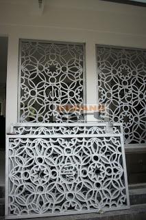desain+teralis+masjid+cor+logam+aluminium
