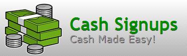 موقع CashSignups للربح من التسجيل في المواقع+اثباتات دفع شخصية