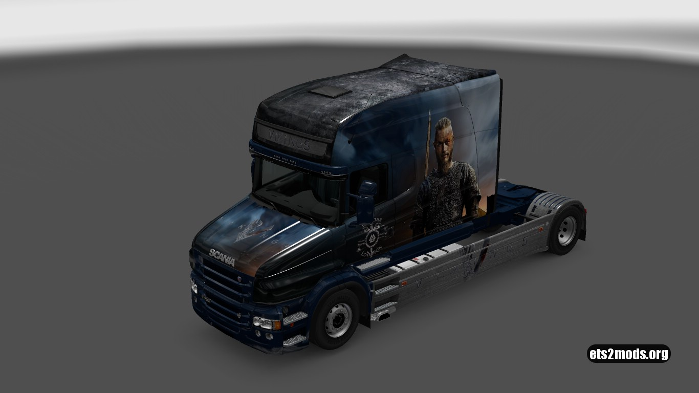 Scania T Vinkings Skin