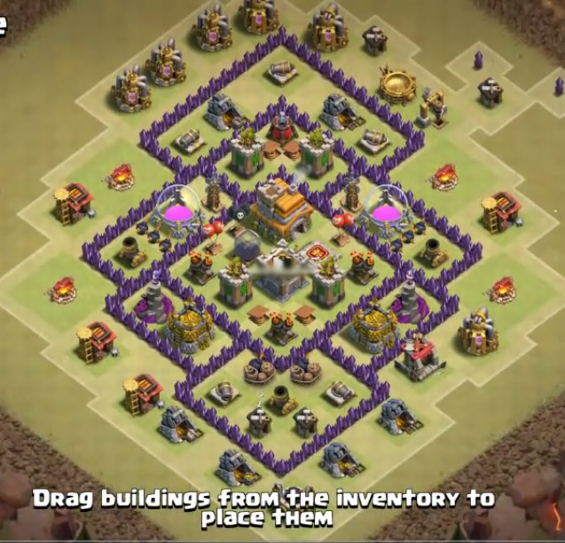 best th7 war base