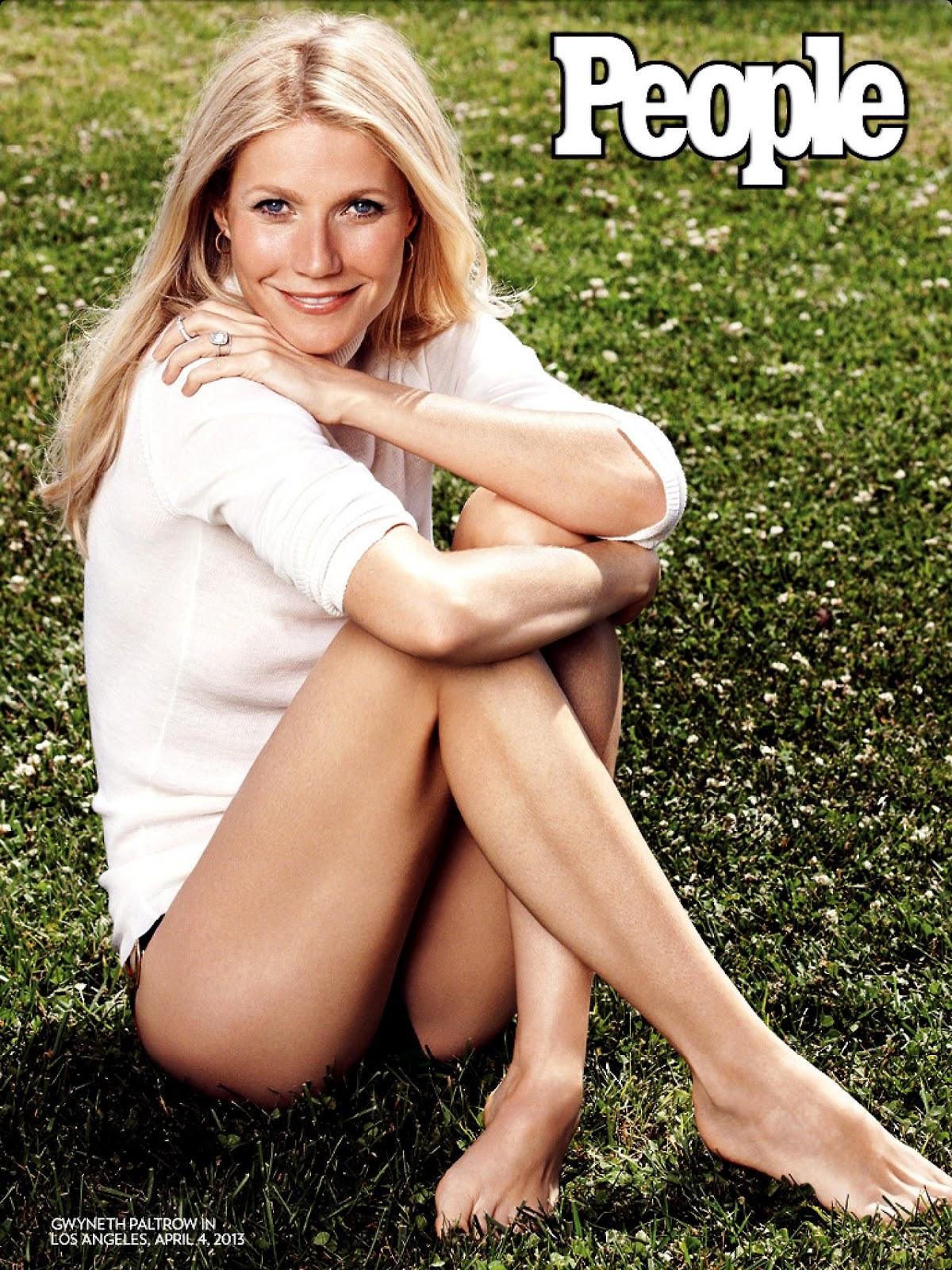 "Gwyneth Paltrow as ""World's Most Beautiful Women 2013"" for ..."