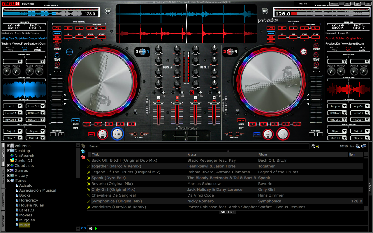 Images of Virtual Dj 6 Skins - www industrious info