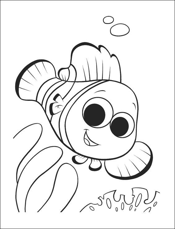 Desenhos Peixinho Nemo Colorir E Pintar Qdb