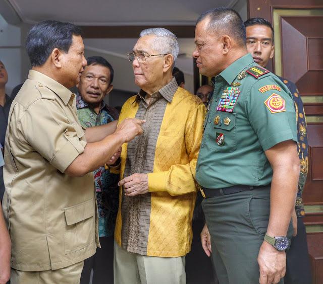 PKS-Gerindra Isyaratkan Usung Prabowo-Gatot di Pilpres 2019