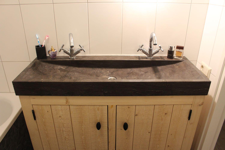 Badkamer Wastafel Natuursteen