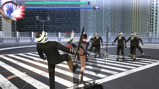 PlayStation 4 schoolgirl game