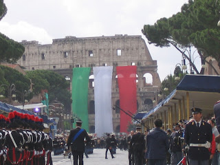 Photo of military parade in Rome