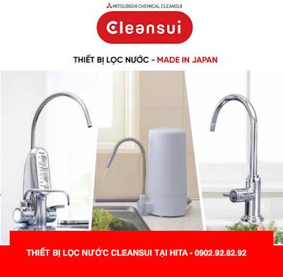 Showroom kinh doanh máy lọc nước Cleansui Japan tương đối tốt nhất tại quận 9