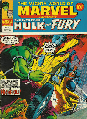 Mighty World of Marvel #273, Hulk vs Constrictor
