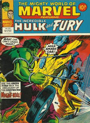 Mighty World of Marvel #273, Hulk vs Constrictor