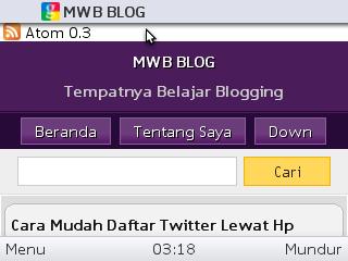 contoh blog mwb lengkap