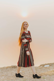 Modest long sleeved dress