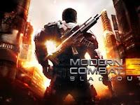 Modern Combat 5: Blackout Apk versi 1.7.0I Mod Terbaru 2016