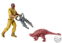 Mattel Jurassic World Toys Mercenary Claw Capture and Ankylosaurus 01