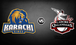 Karachi Kings vs Lahore Qalandars Live Ptv Sports 2018