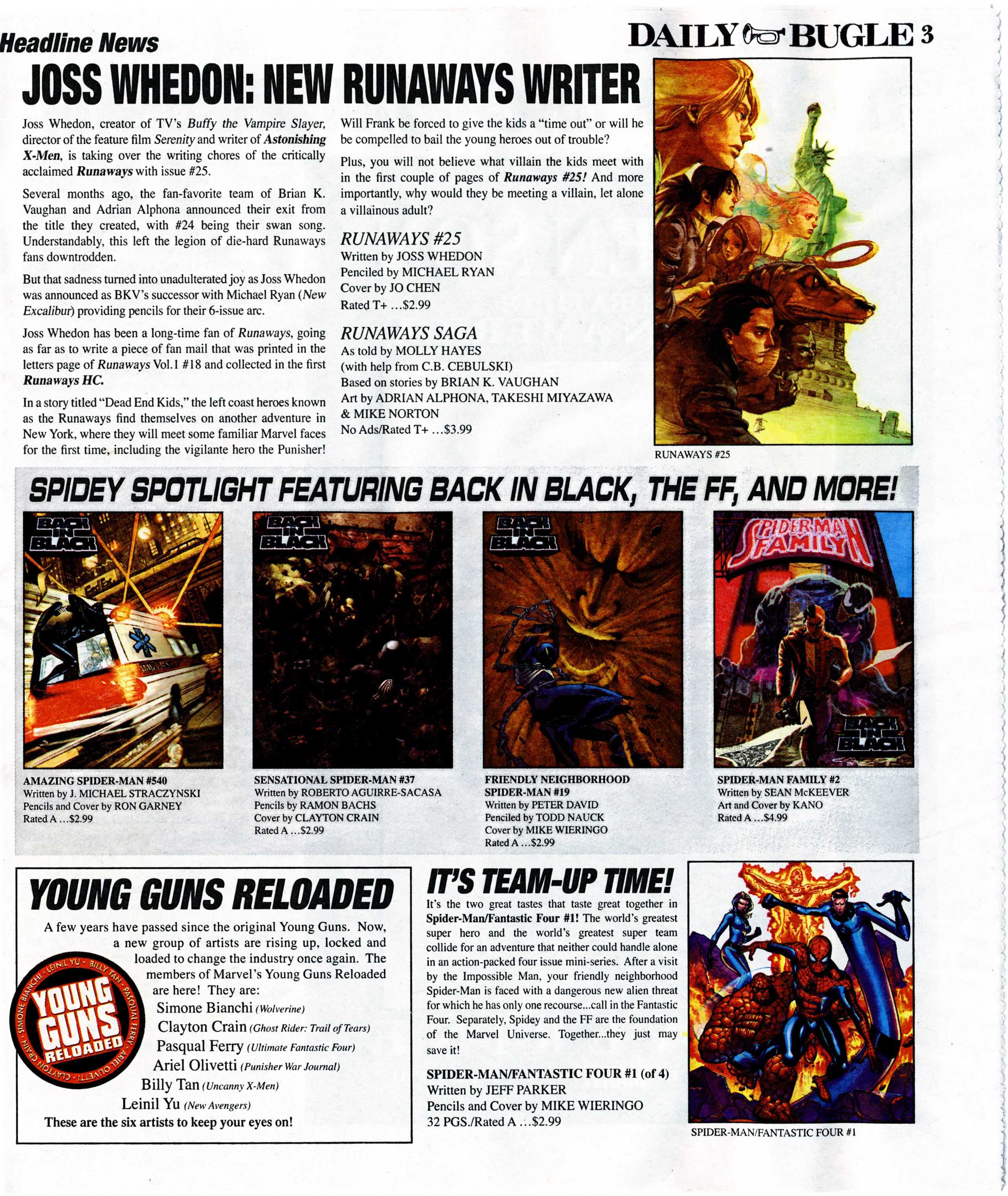 Read online Daily Bugle (2006) comic -  Issue #7 - 4