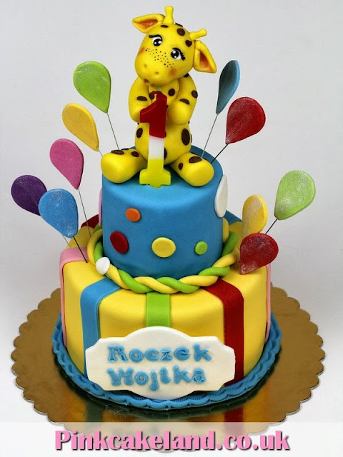 Giraffe Cake - London Cakes